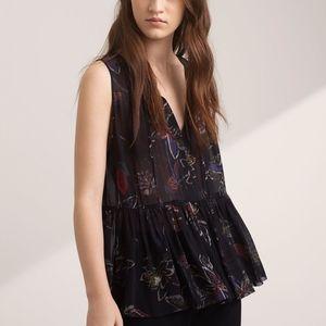 Aritzia Wilfred Nantes blouse XS in EUC